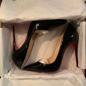 Christian Louboutin So Kate Black heels